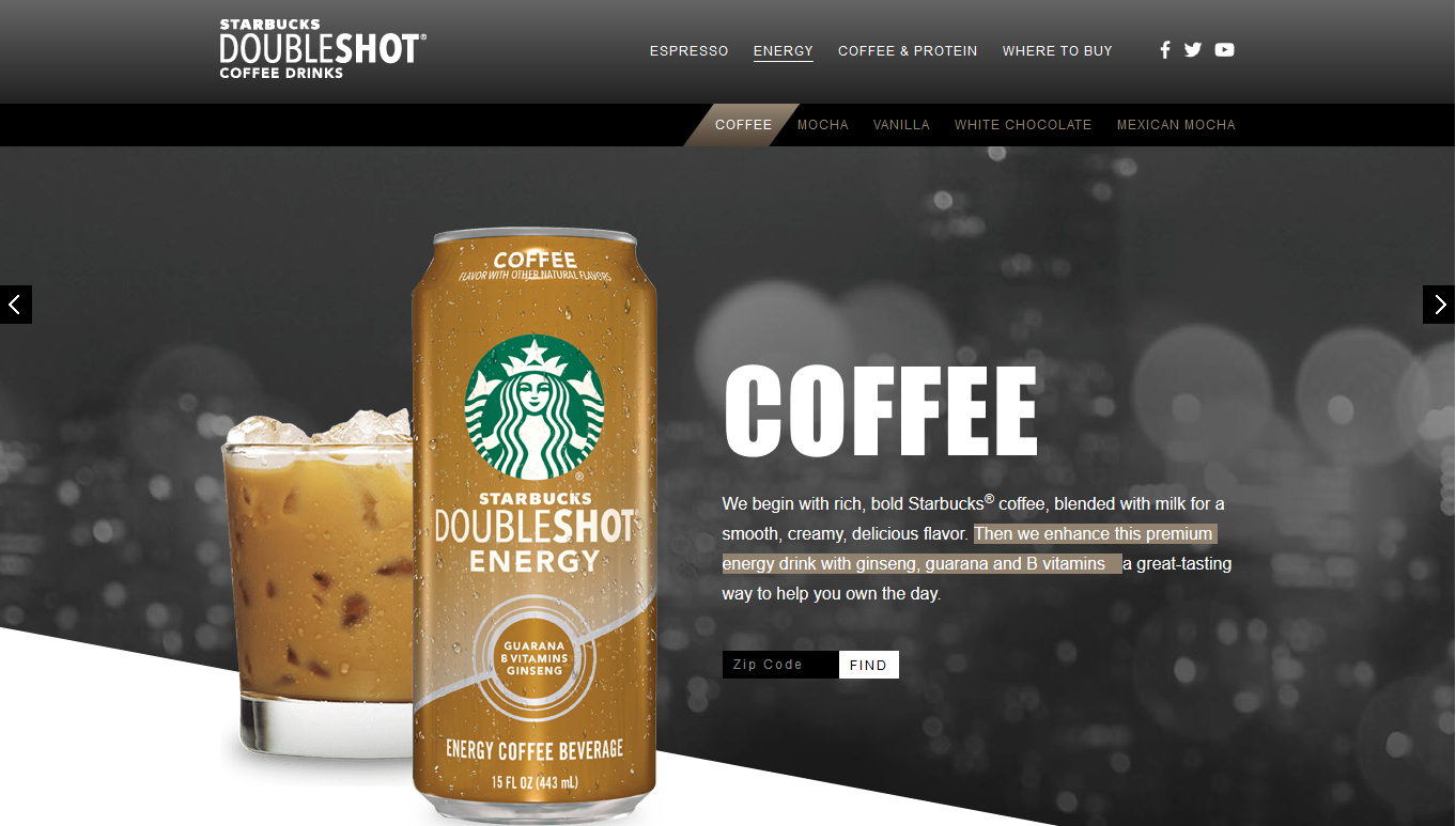 Starbucks Doubleshot Energy Drink Review